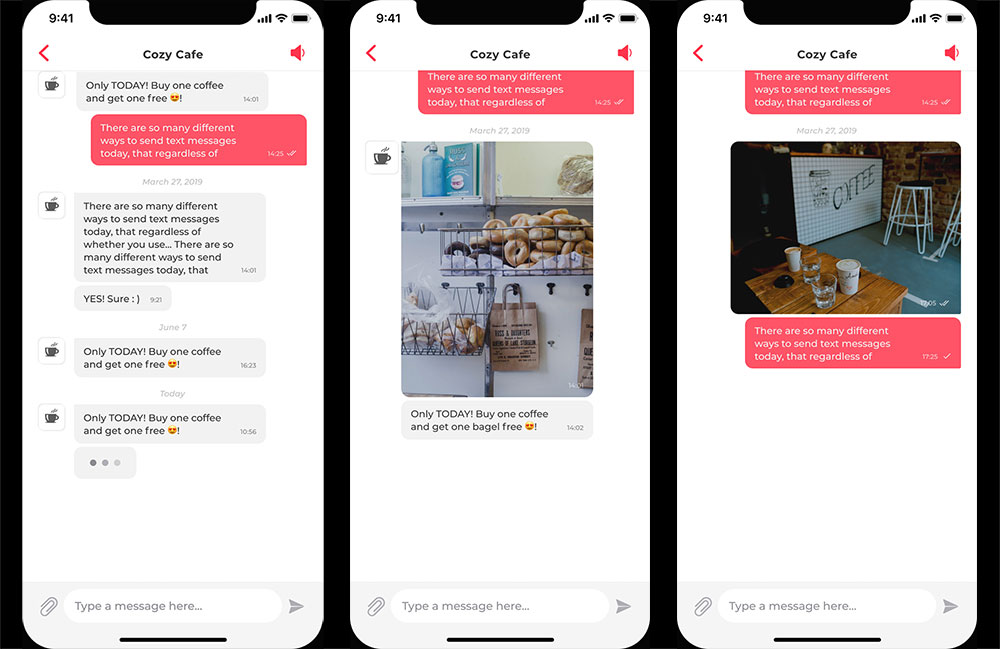 StampnGo in-app chat